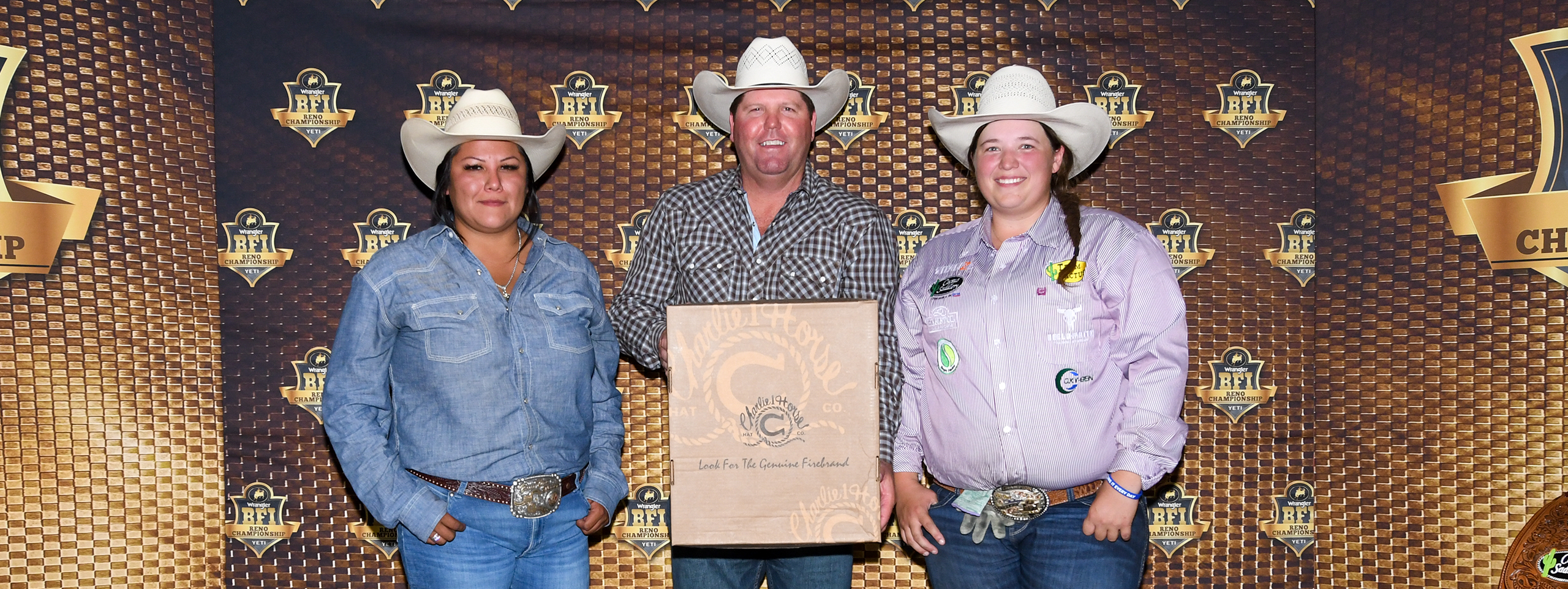 Charlie 1 Horse All-Girl Team Roping Results